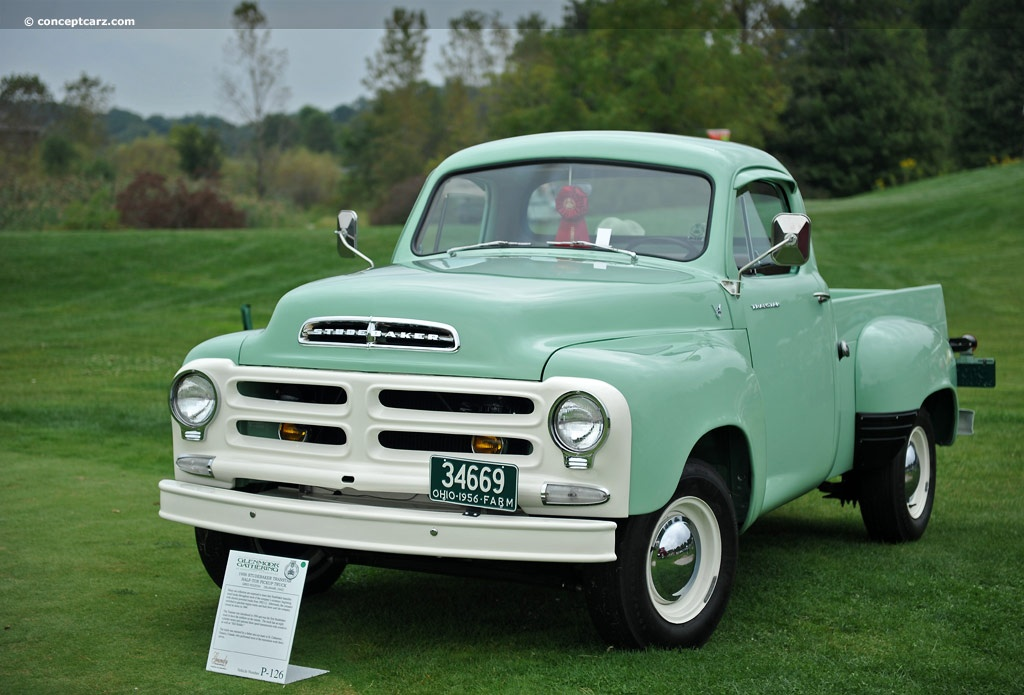 1956 Studebaker Transtar Half-Ton Pickup Images, Information and ...
