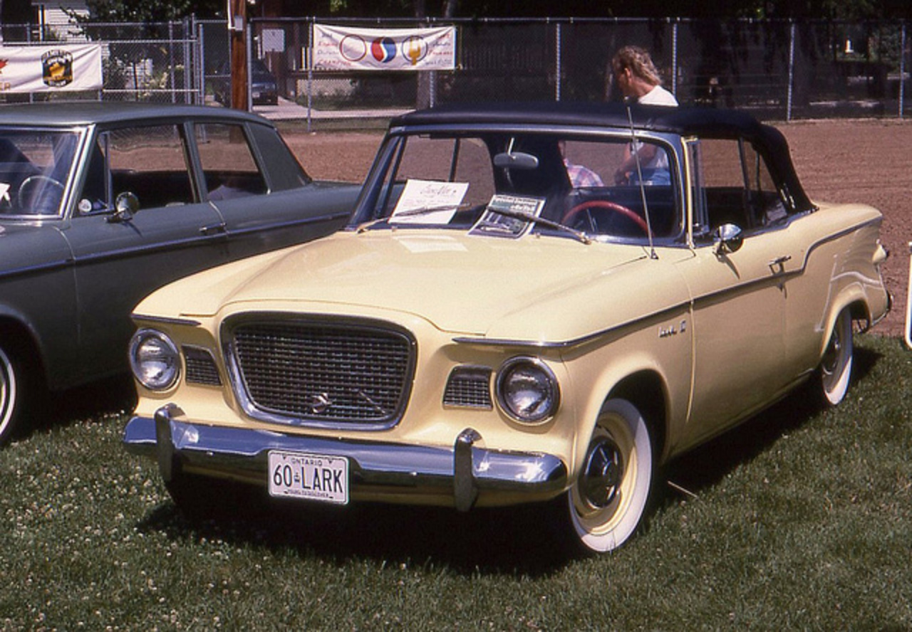 1960 Studebaker Lark VI Regal convertible | Flickr - Photo Sharing!