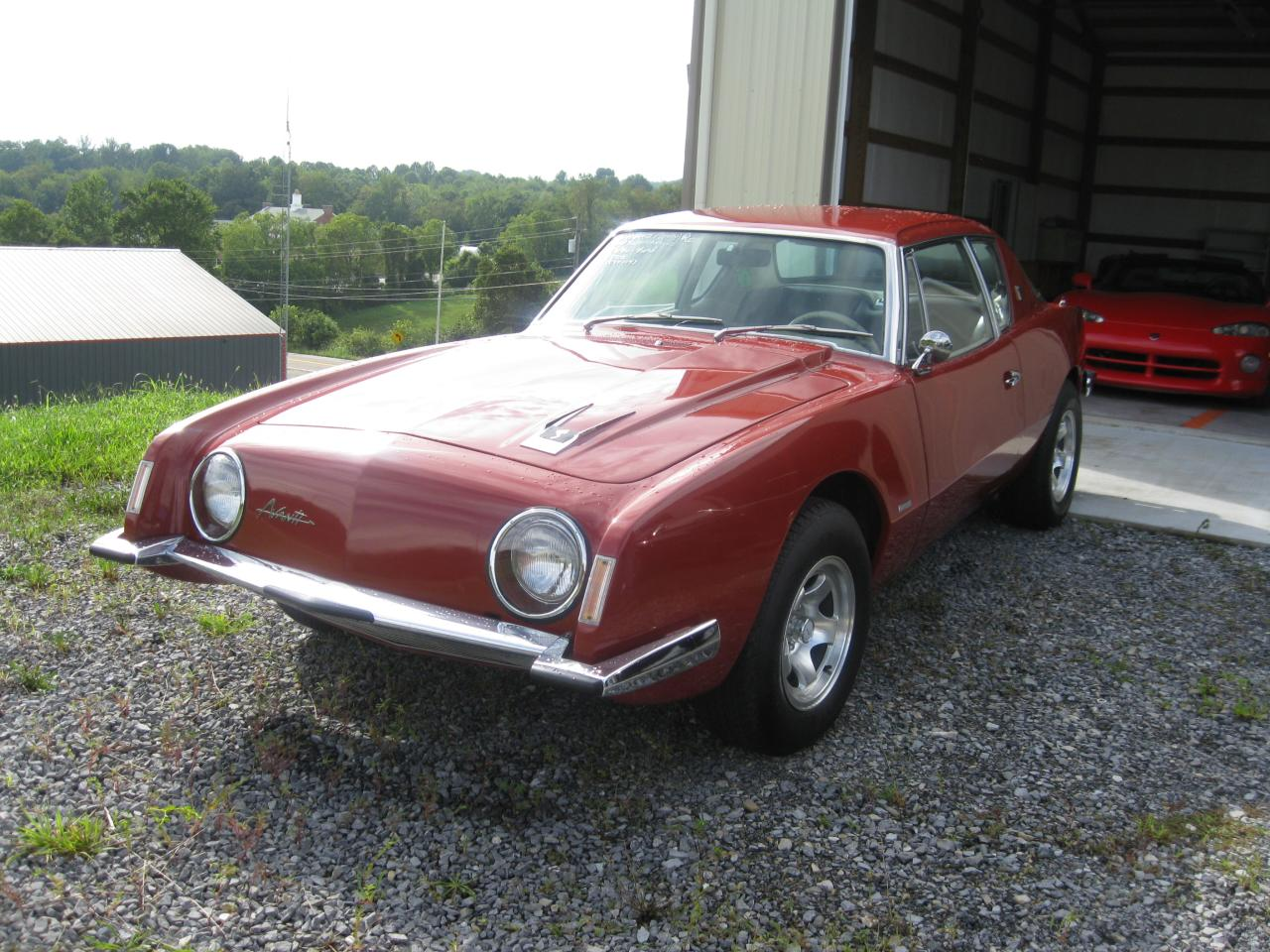 Bristol - car lot 63 Studebaker Avanti R2 - red (2) | Flickr ...