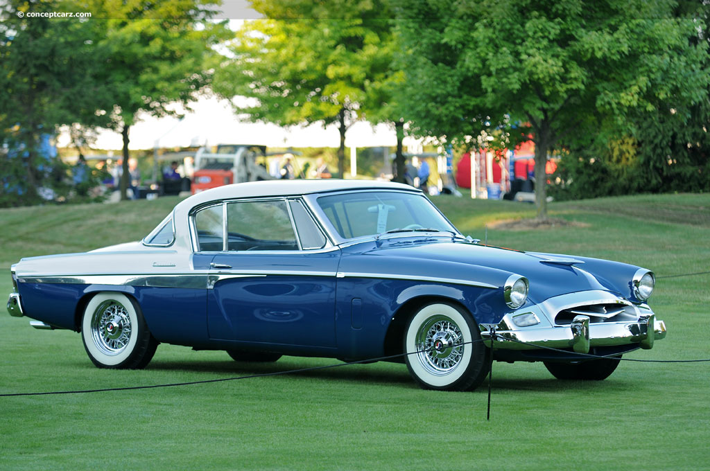 Auction results and data for 1955 Studebaker Commander (Model 16G8 ...