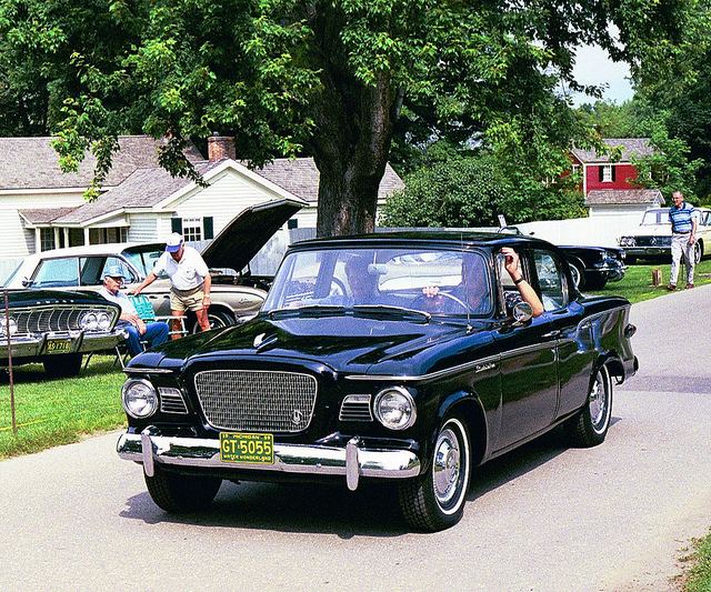1959 Studebaker Lark VI in parade | Flickr - Photo Sharing!