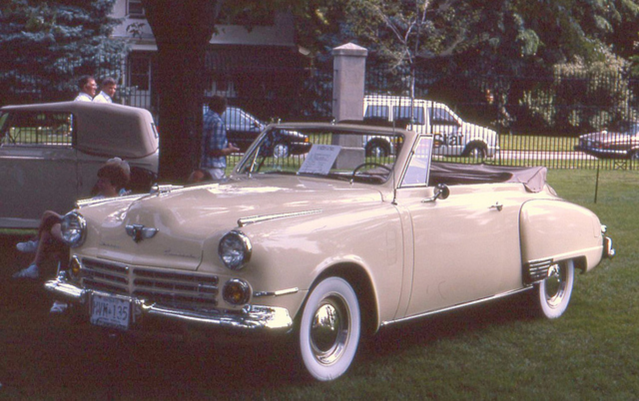 1947 Studebaker Commander convertible | Flickr - Photo Sharing!