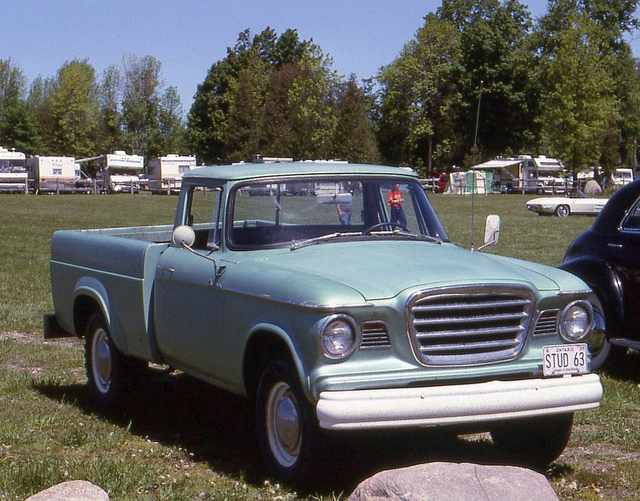 1963 Studebaker Champ pickup | Flickr - Photo Sharing!