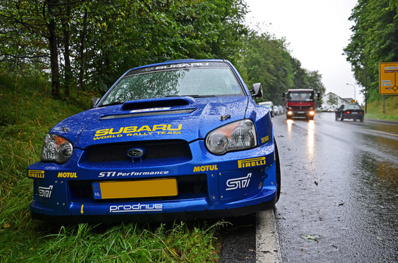 Subaru Impreza WRX STi WRC Style | Flickr - Photo Sharing!