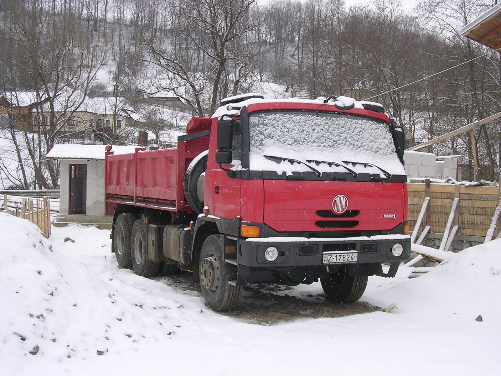 Tatra 815 TERRN°1 Arefu Romania snow | Flickr - Photo Sharing!