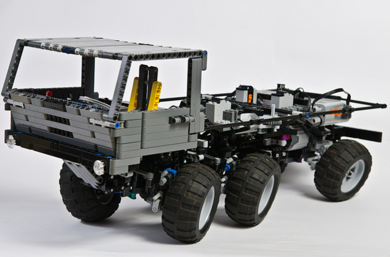 Flickr: The Lego Truck Trial Pool