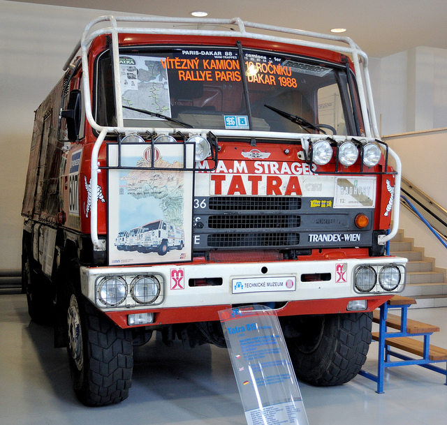 Tatra 815 VD 10300 4x4.1 Paris-Dakar (1987) | Flickr - Photo Sharing!