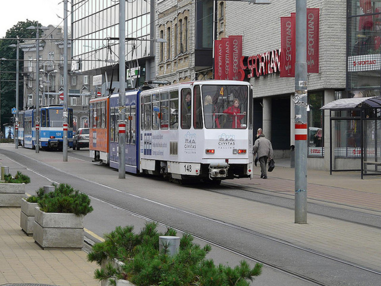 Czech Tatra tram - Tallinn Estonia | Flickr - Photo Sharing!