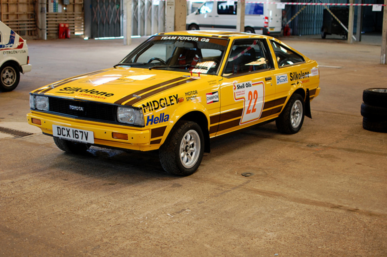 TRD Toyota Corolla rally car | Flickr - Photo Sharing!