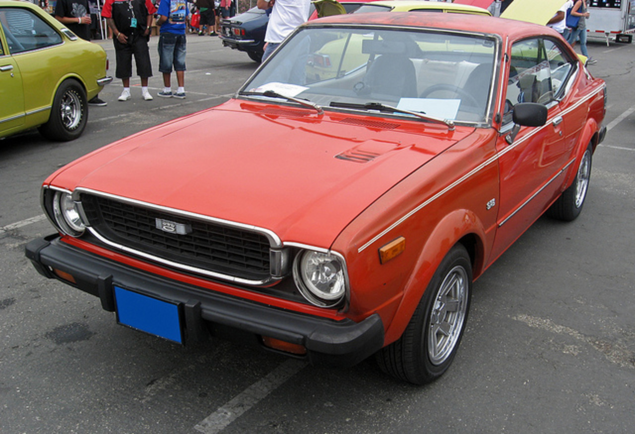 1976 Toyota Corolla SR5 liftback front 3q | Flickr - Photo Sharing!
