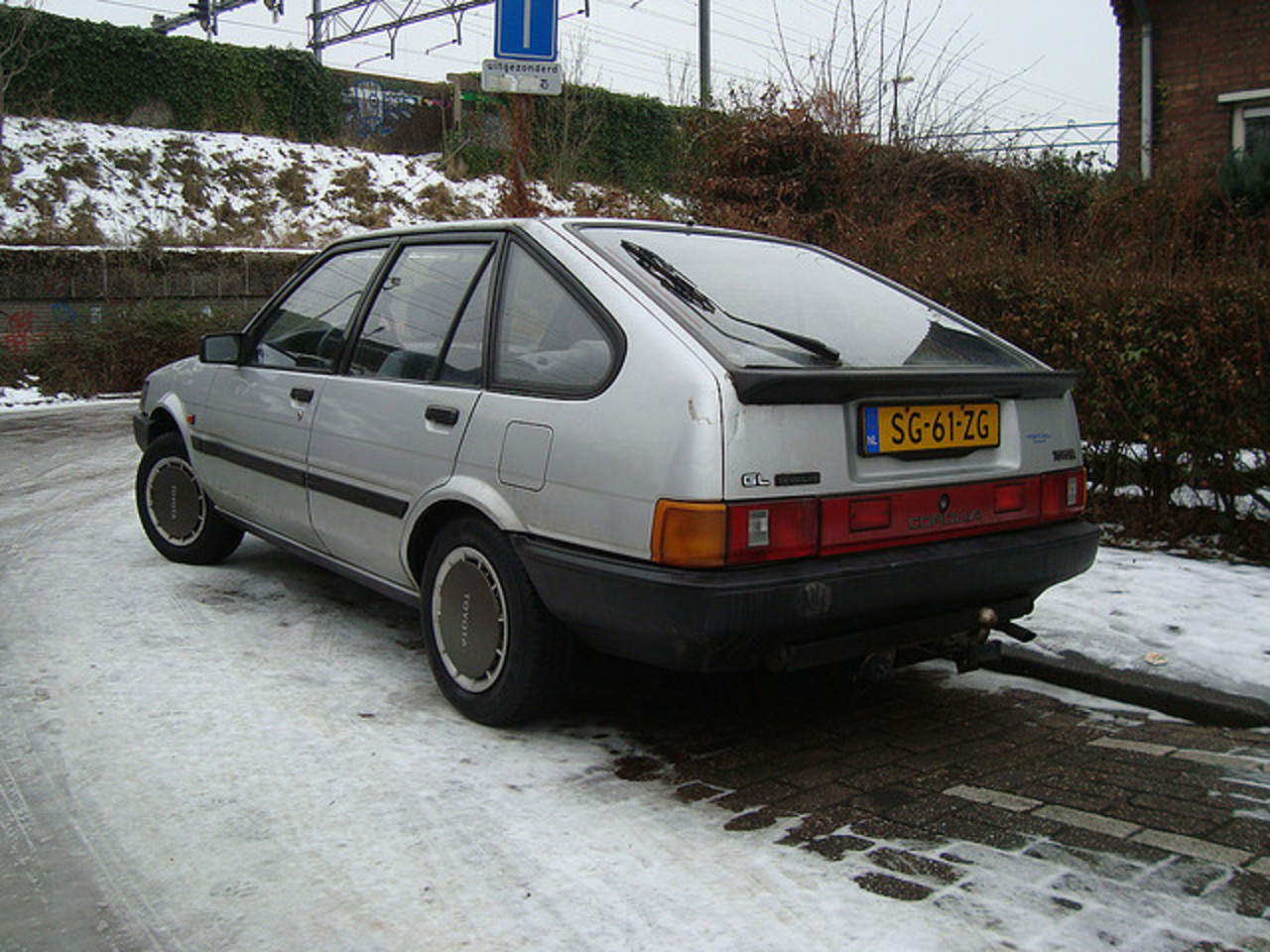 1987 Toyota Corolla Liftback GL 1.3 | Flickr - Photo Sharing!