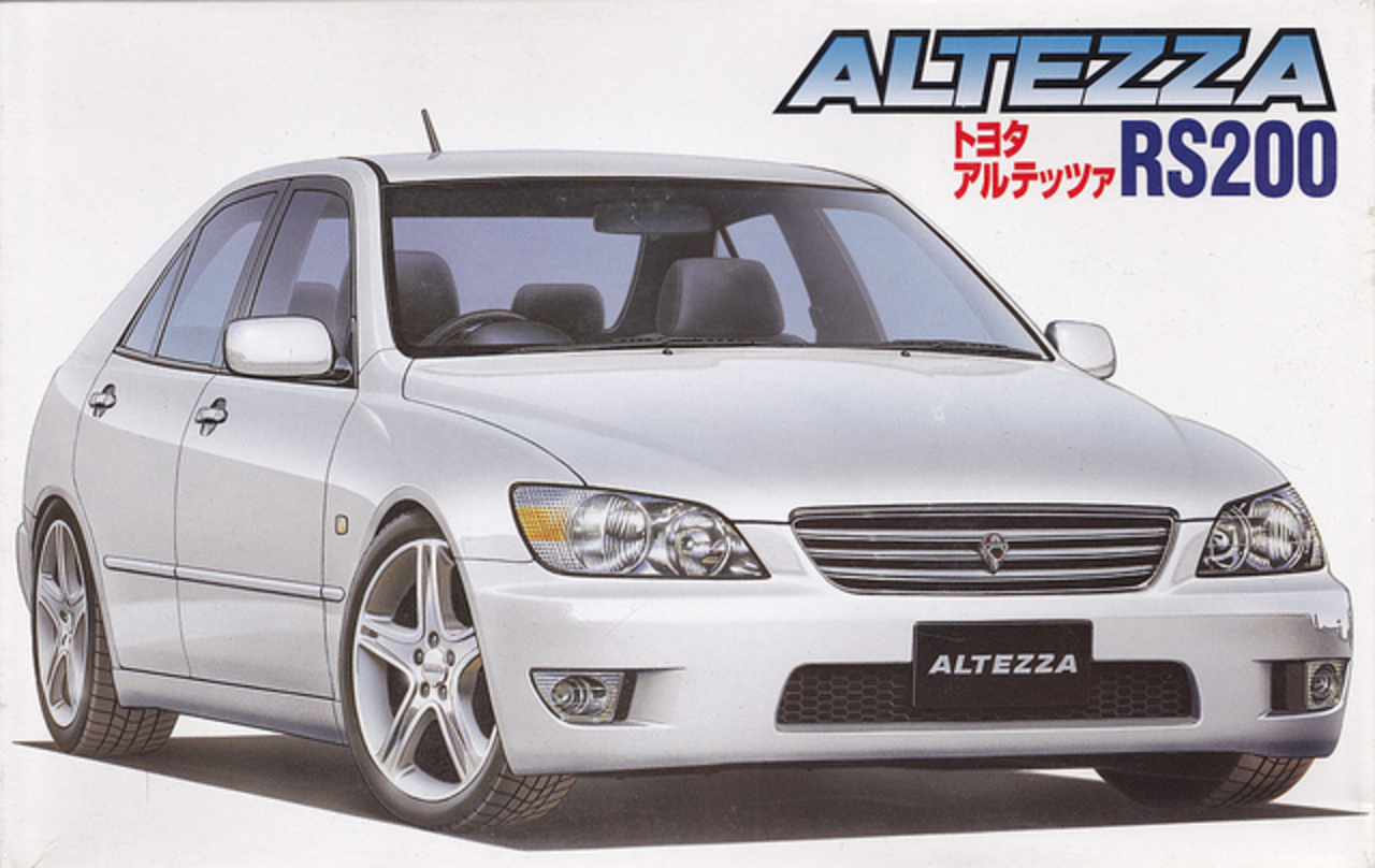 SXE10 Toyota Altezza RS200 | Flickr - Photo Sharing!