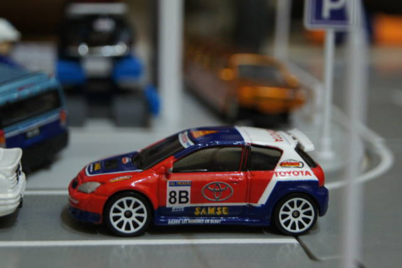 Toyota corolla rally car From Majorette | Flickr - Photo Sharing!