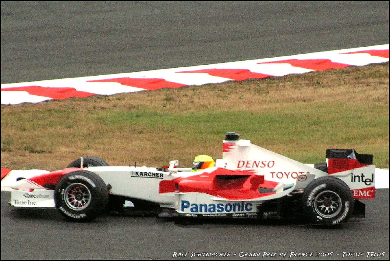 Ralf Schumacher - GP France 2005 - Toyota TF105 | Flickr - Photo ...