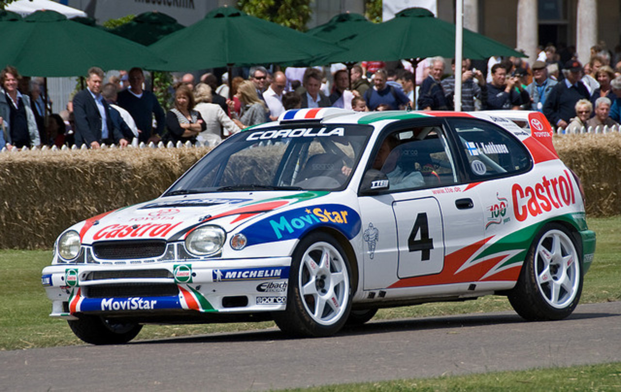 Toyota Corolla Rally Car - Goodwood Festival of Speed 2008 ...