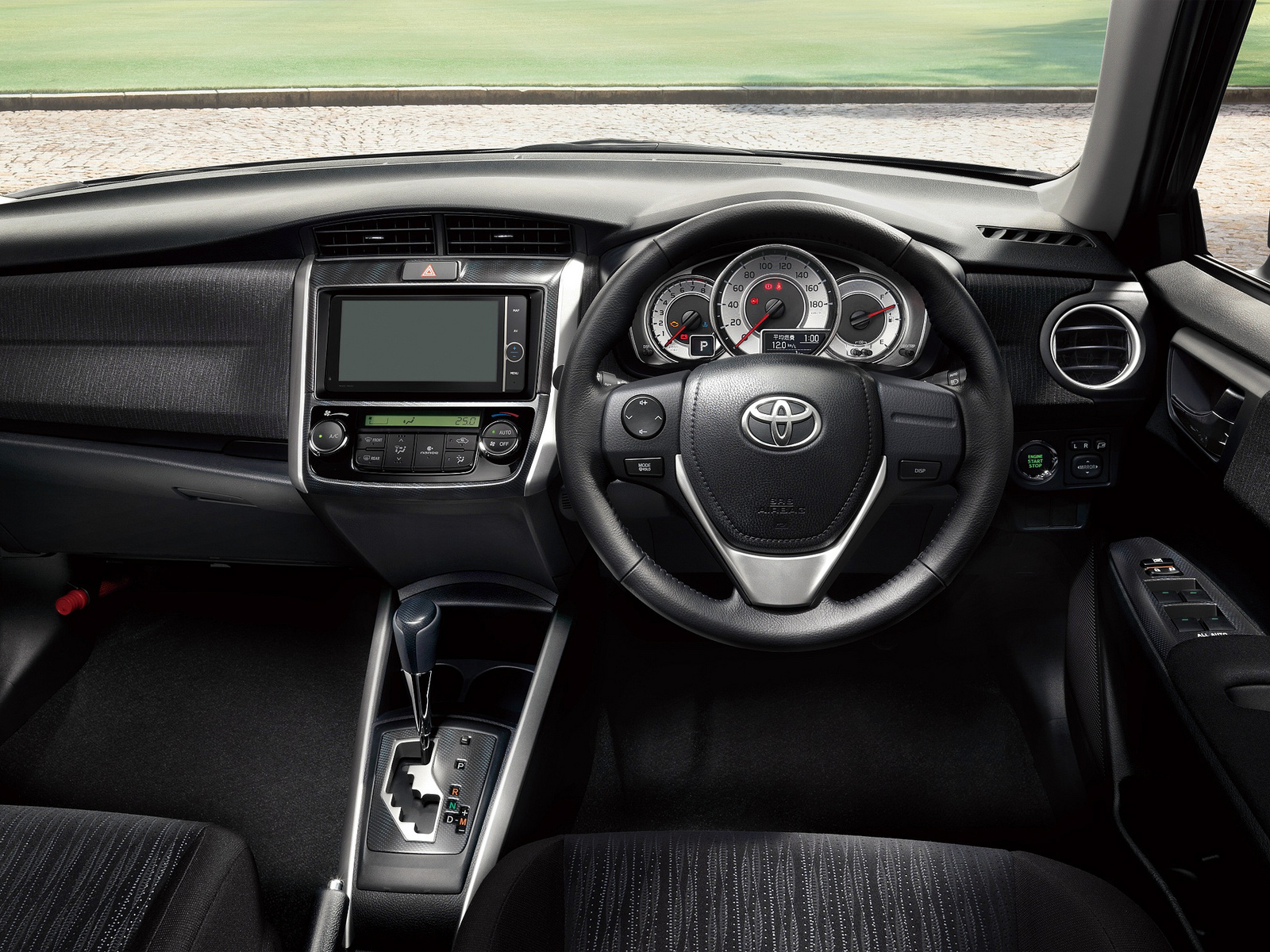 2012 Toyota Corolla Fielder 1.8S Aero Tourer dashboard | Flickr ...