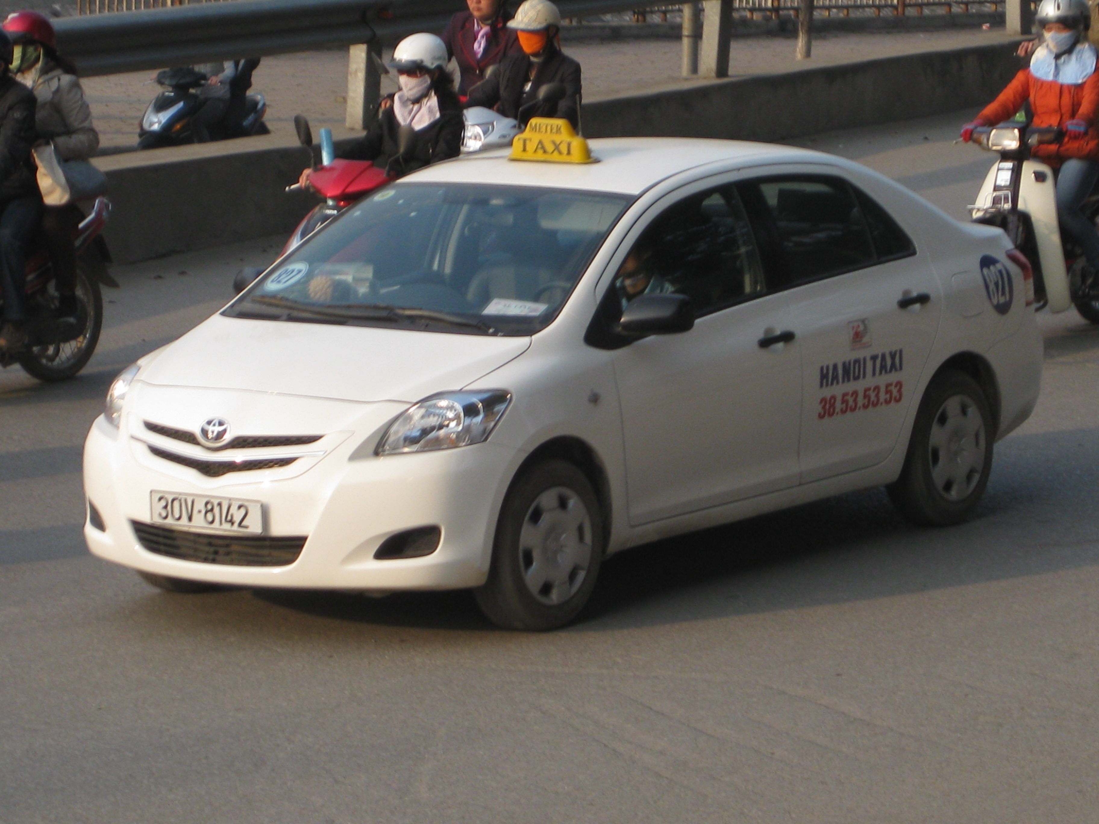 On street - Toyota Vios Taxi | Flickr - Photo Sharing!