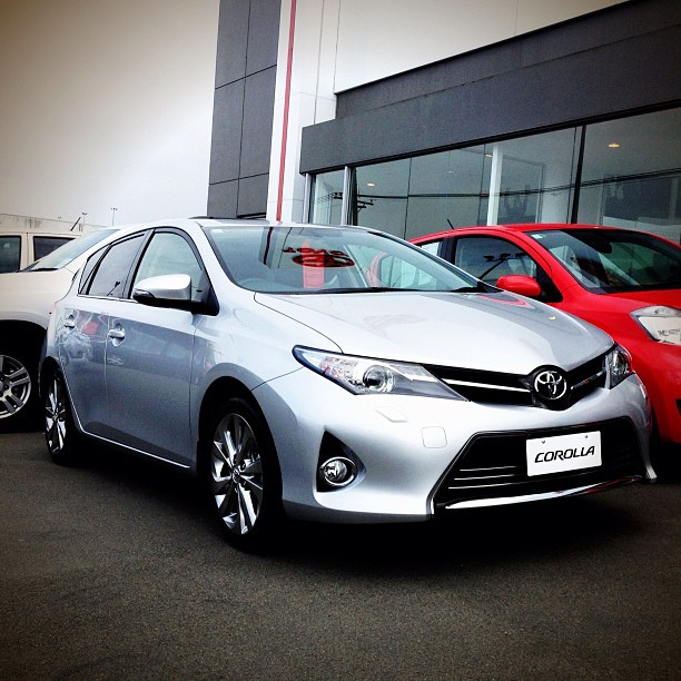 The new Toyota Corolla 2013. Launched today. Amazing improvement ...