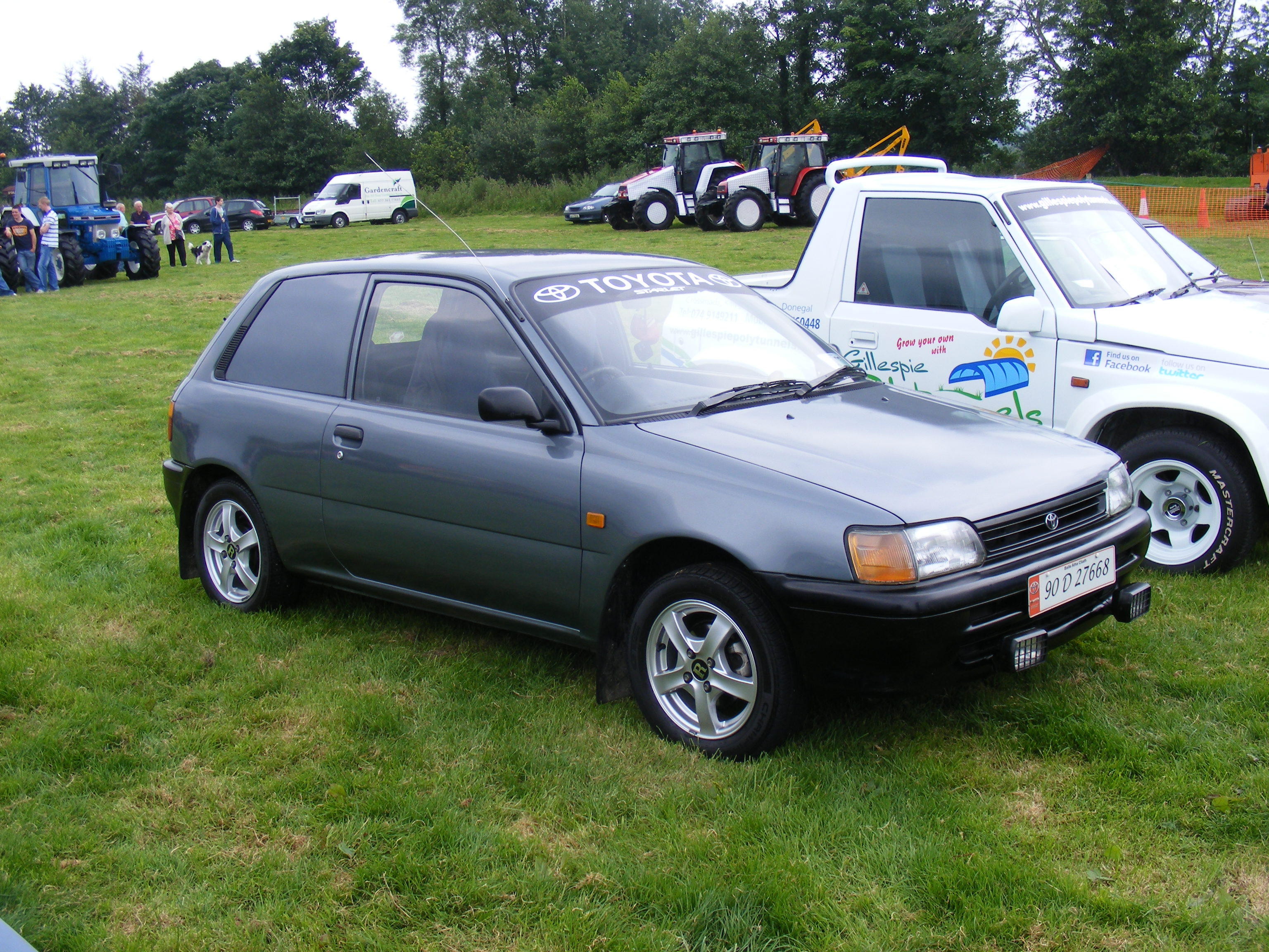 Finn Valley Vintage Rally 2012 1990 Toyota Starlet Van | Flickr ...