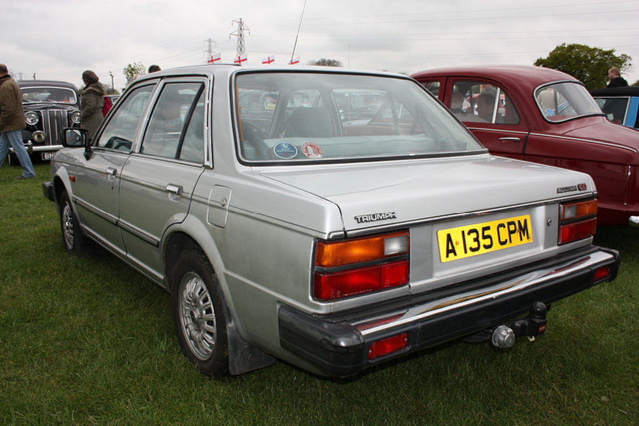 1983 Triumph Acclaim 1.3 CD | Flickr - Photo Sharing!