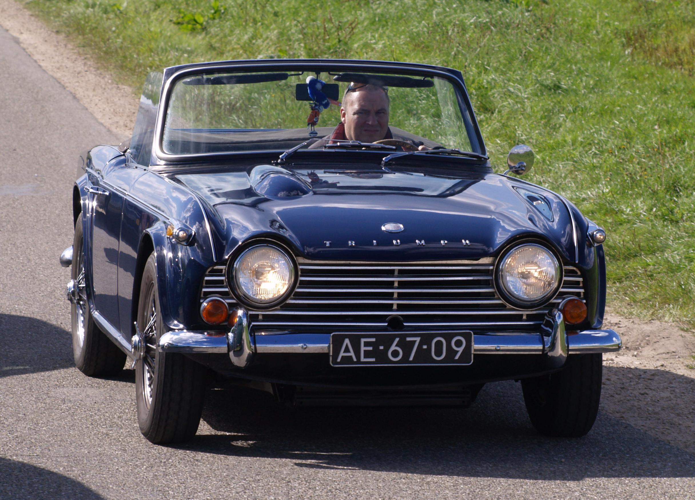 Triumph TR4A IRS | Flickr - Photo Sharing!