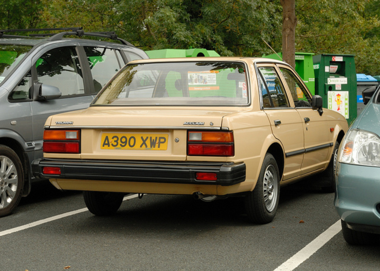 Triumph Acclaim A390XWP | Flickr - Photo Sharing!