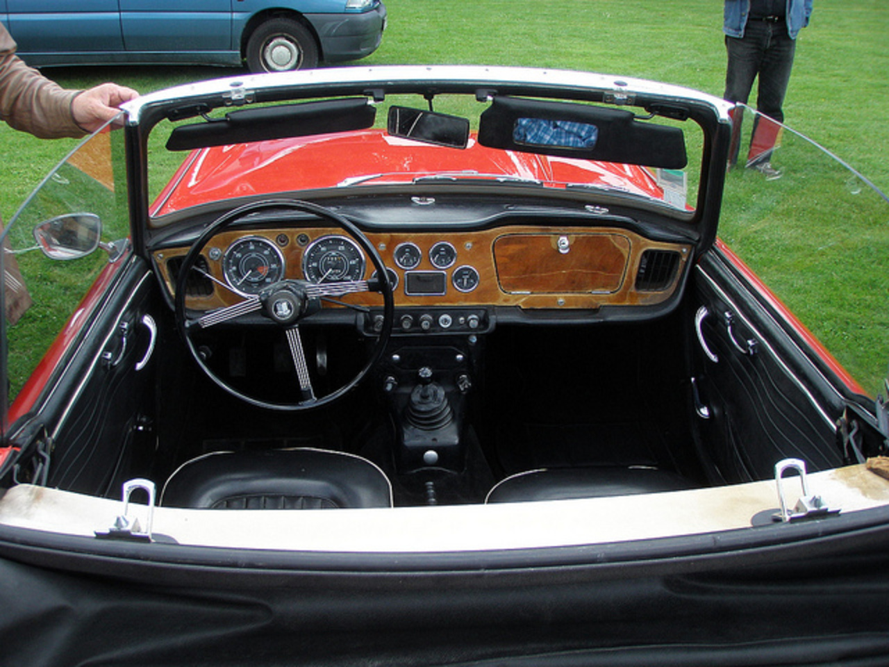 Flickr: The Triumph TR-4 Pool