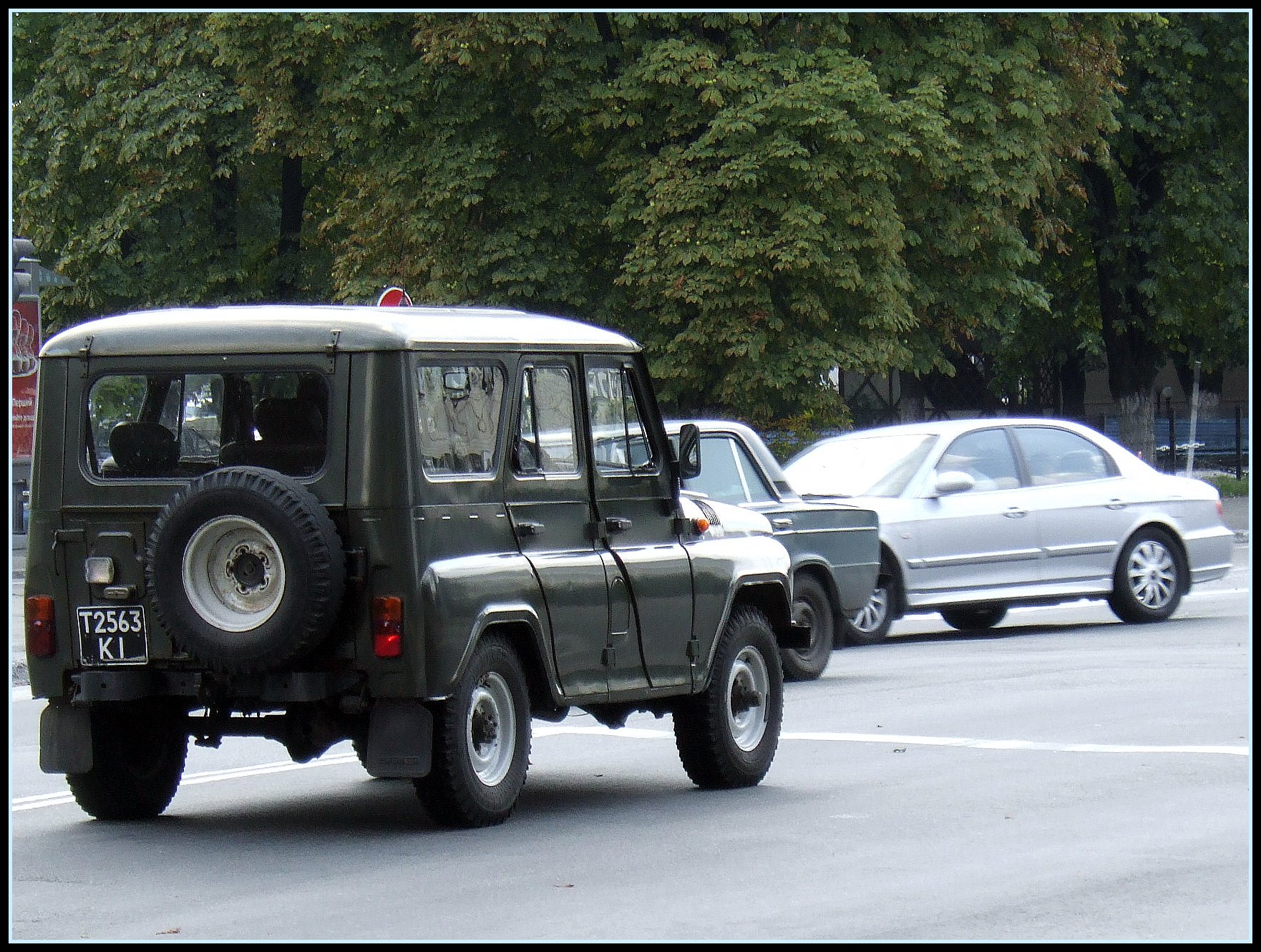 "Russian classic SUV UAZ 3159 ""BARS"" 
