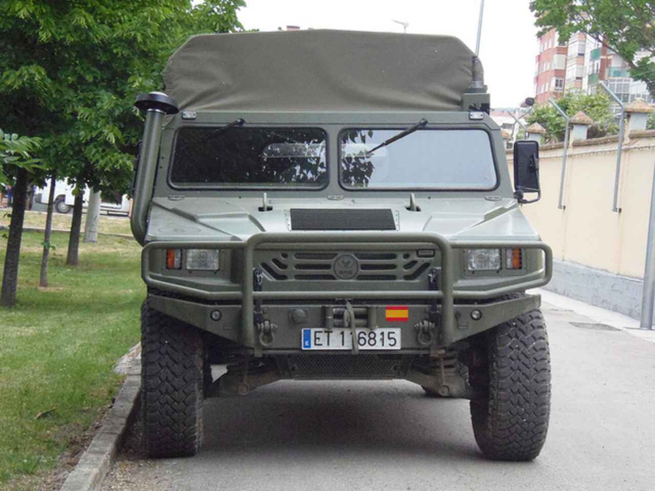 URO VAMTAC Rebeco 4x4 version Transporte Personal | Flickr - Photo ...
