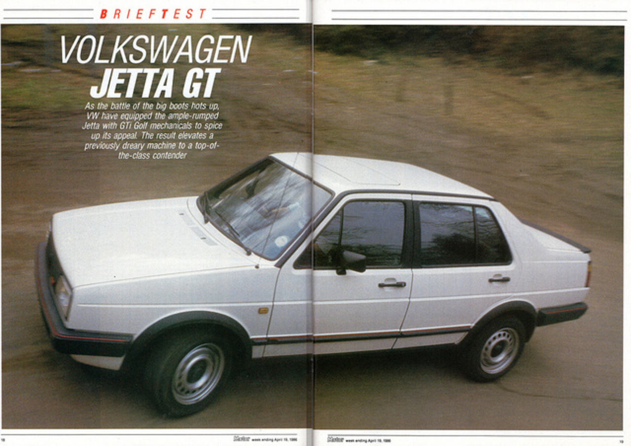 Volkswagen Jetta GT Road Test 1986 (1) | Flickr - Photo Sharing!
