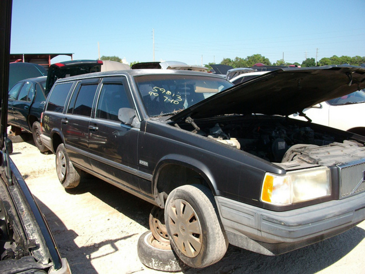 1990 Volvo 740 wagon | Flickr - Photo Sharing!