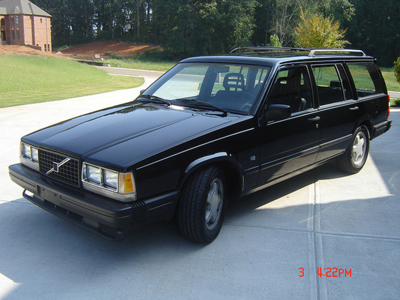 1986 Volvo 740 Wagon with a Mustang 5.0 Supercharged V8 | Flickr ...