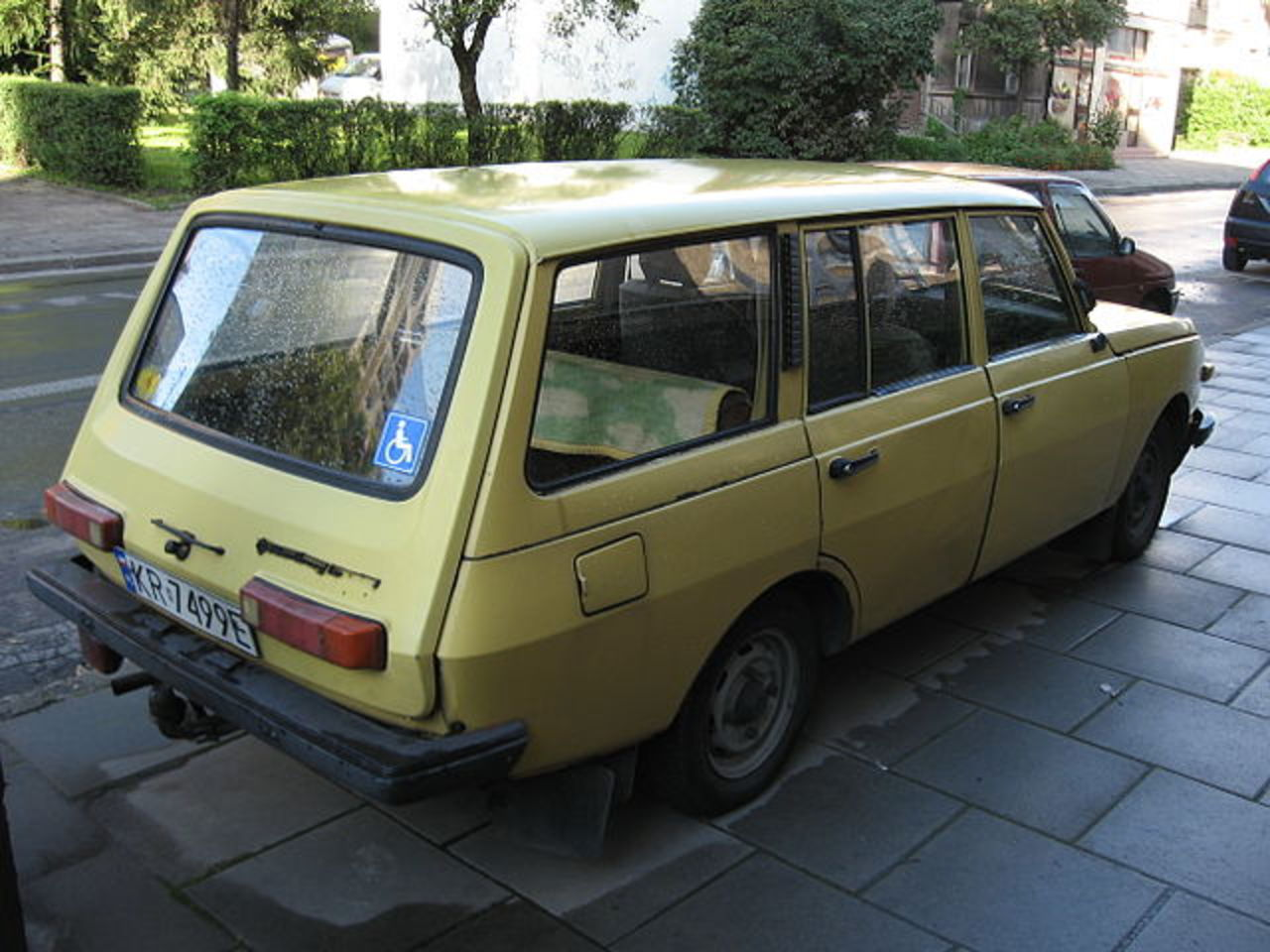 Wartburg 353 Tourist Wagon: Photo #