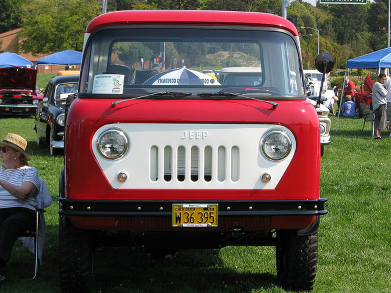 1960 Willys Jeep FC 170 C.O.E. Truck 'W 36 395' 1 | Flickr - Photo ...
