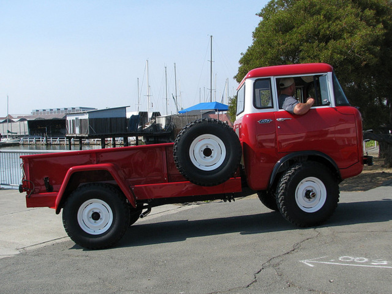 1960 Willys Jeep FC 170 C.O.E. Truck 'W 36 395' 6 | Flickr - Photo ...