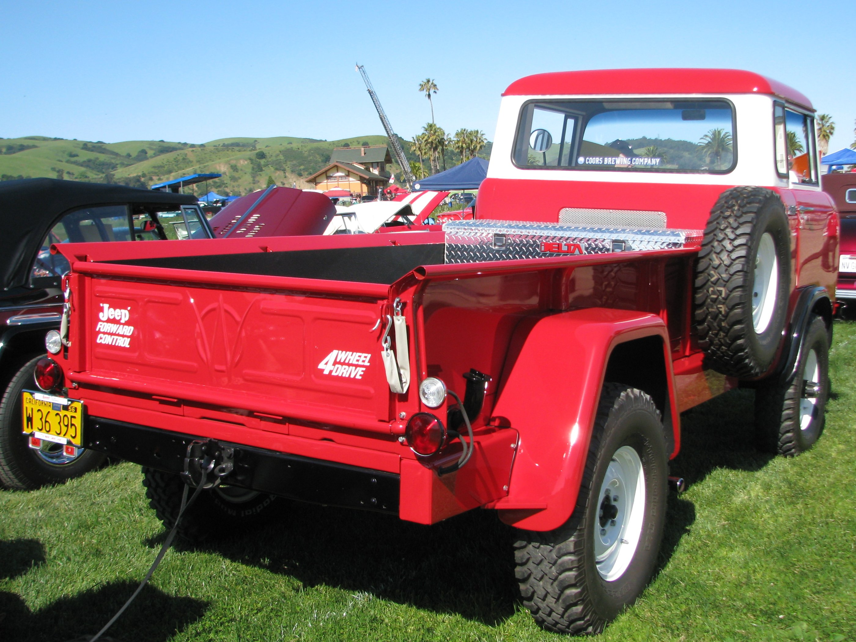 1960 Willys Jeep FC 170 C.O.E. Truck 'W 36 395' 3 | Flickr - Photo ...