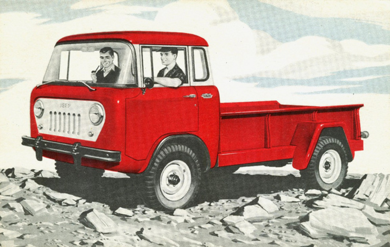 1957 Willys Jeep FC-170 Forward Control Truck | Flickr - Photo ...