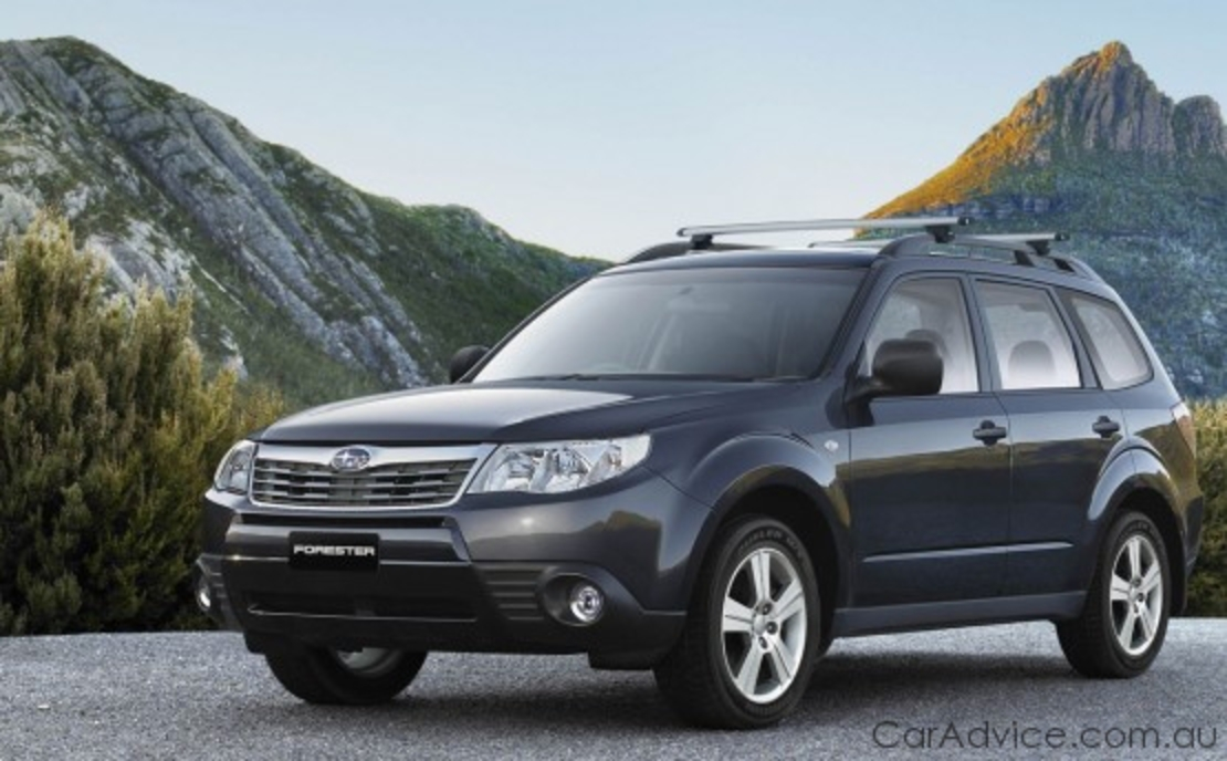 Subaru Forester X 'Columbia' Special Edition
