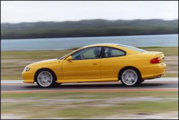 It's indicative that the Monaro is quite tiring to drive, especially over