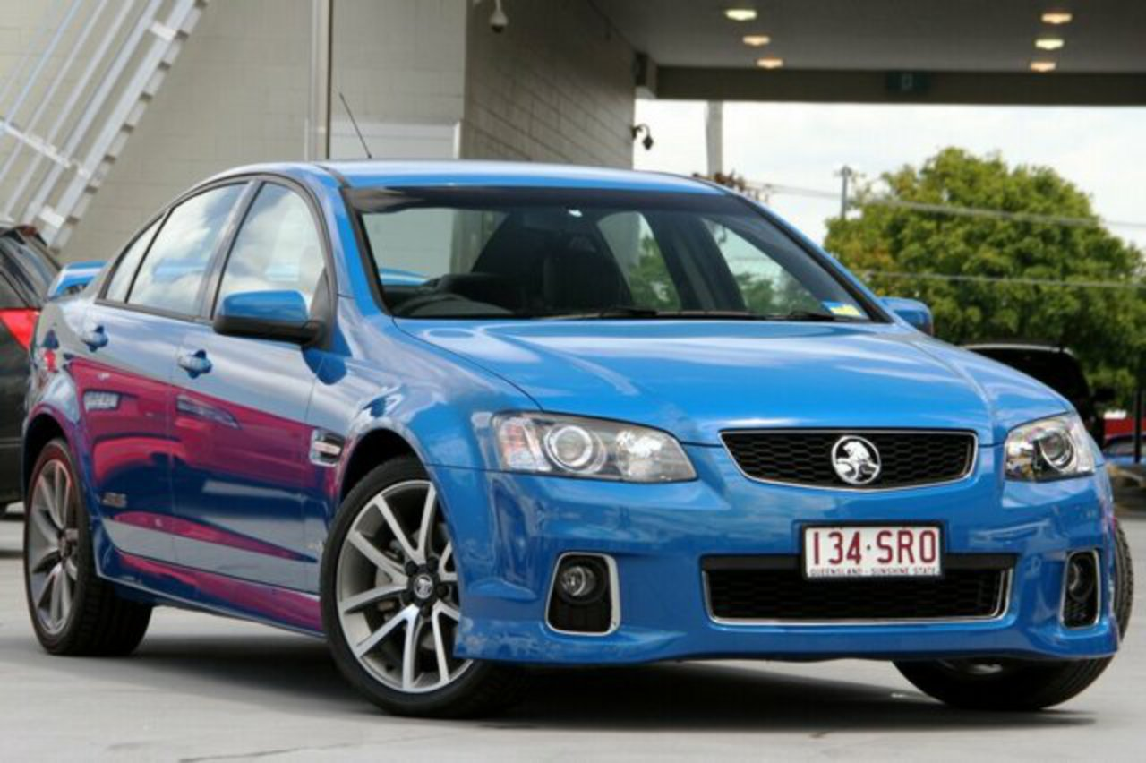Discounted Used 2012 Holden Commodore VE II MY12 SS V Blue 6 Speed Automatic