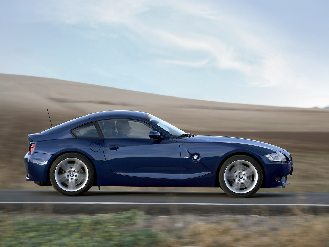 2006 BMW Z4 M Coupe – Side