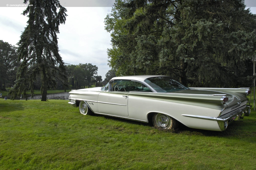 1959 Oldsmobile Super 88 Images, Information and History (Super Eighty-Eight