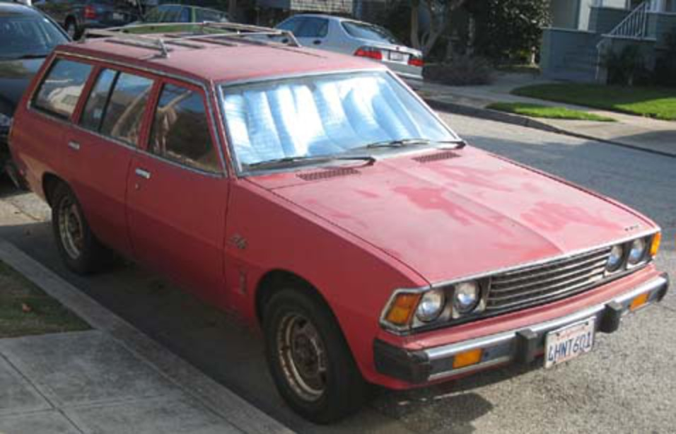Down On The Street: 1978 Dodge Colt Station Wagon