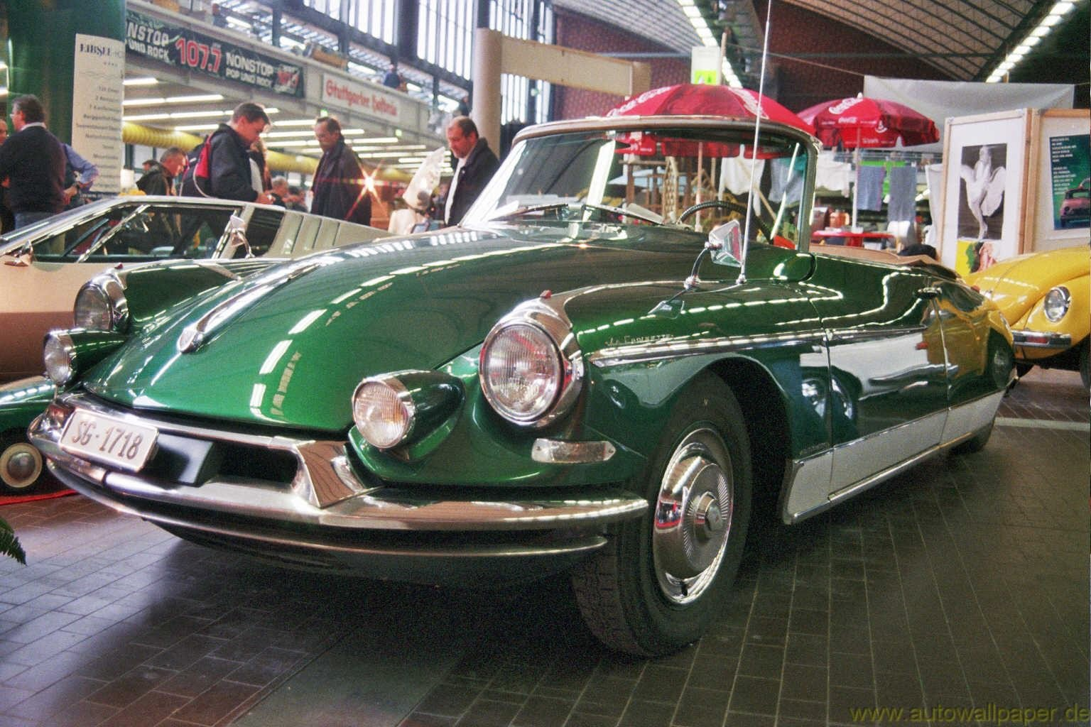 Citroen DS 19 Cabriolet - cars catalog, specs, features, photos, videos,