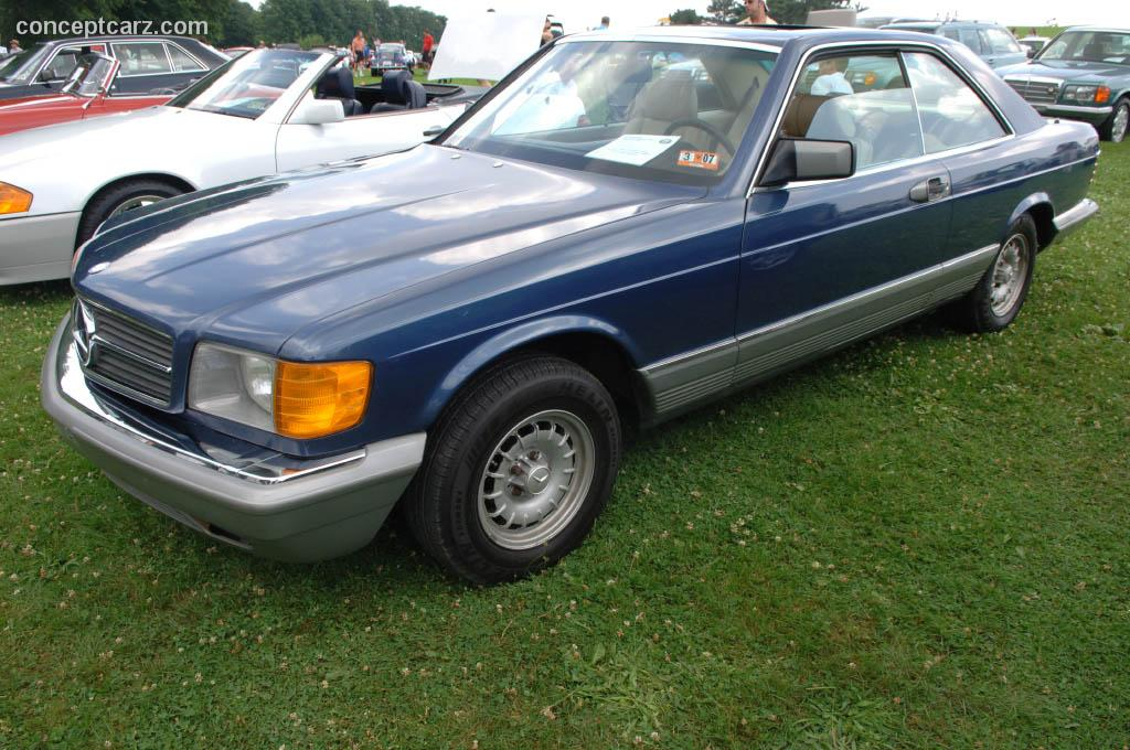 1985 Mercedes-Benz 500 SEC auction sales and data.