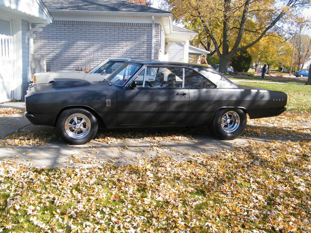 This is my 1967 Dodge Dart GT which body mods include mini tubs,