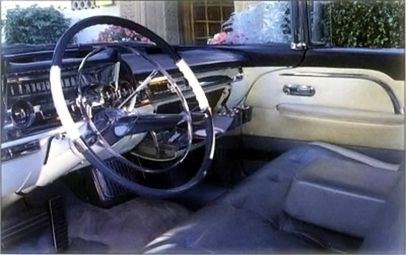 The instrument panel of the 1957 Cadillac Eldorado Brougham also sported