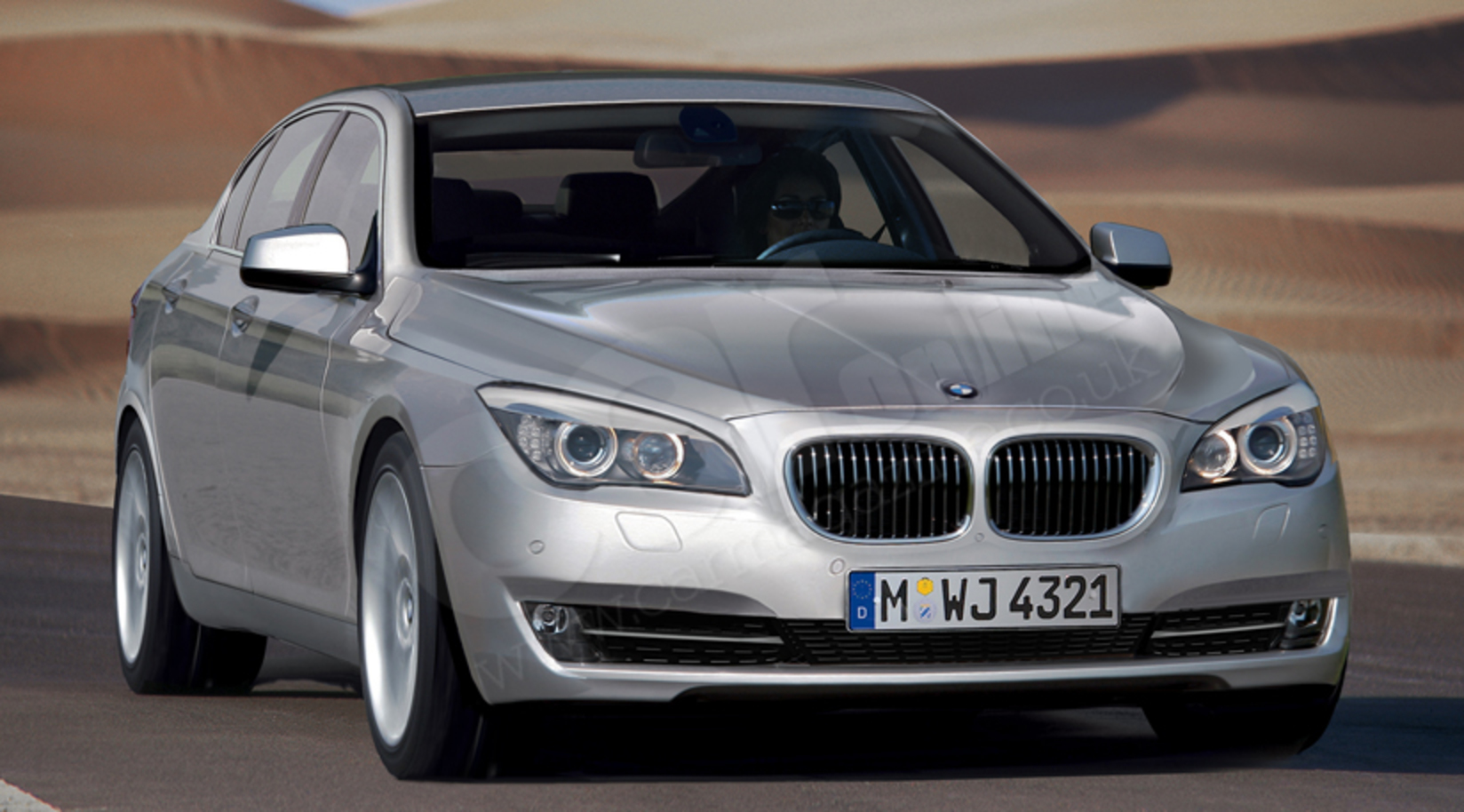 New set of renderings 2011 BMW 5 Series – Rear photo included