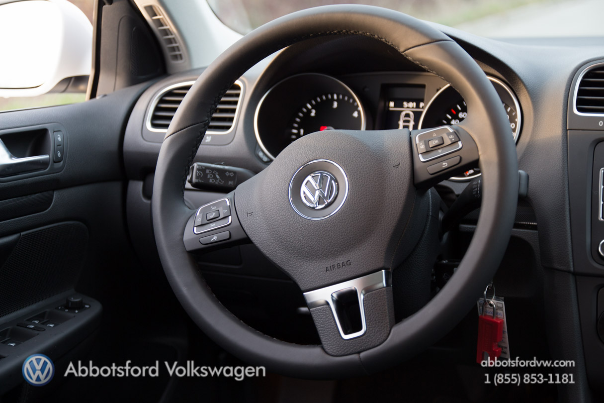 The 2013 Volkswagen Golf Highline comes with everything under the sun,
