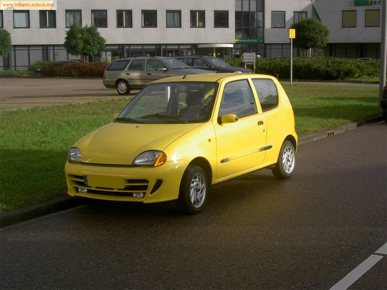 1997 Fiat Cinquecento information and images